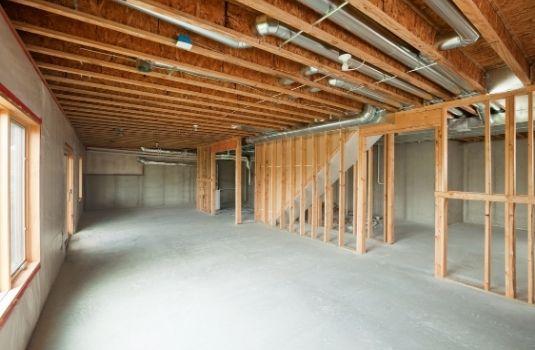 walkout basement remodeling